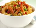 Foto Rice met garnaal